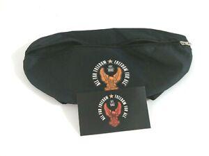 Harley Davidson Handlebar Bag Waist Pack Bag Nylon Sportster Black