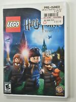 LEGO Harry Potter: Years 1-4 (Nintendo Wii, 2010) Original Case and Manual