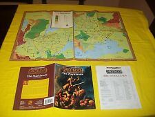 WGR4 THE MARKLANDS DUNGEONS & DRAGONS AD&D 2ND EDITION GREYHAWK TSR 9398 3 + MAP