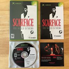 Scarface: The World is Yours Original Microsoft Xbox System Complete Game