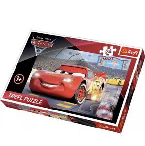Trefl 24 Piece Maxi Kid Boys Disney Pixar Cars 3 Lightning McQueen Jigsaw Puzzle