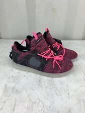 Flash Lights Girls PInk/black Rechargeable Shoes Size 6 New W/ Tags Work!