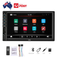 7'' Touch Screen Car Stereo Radio MP5 Steering Wheel Control Bluetooth FM USB
