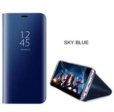 Para Samsung Galaxy A50 A70 A40 Claro de Vista Espejo Táctil Funda Piel con Tapa