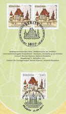 BRD 2011: Kirchenburg von Birthälm Nr. 2889  rumänische Parallelausgabe! 1A 1704