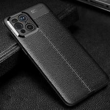 For OPPO Find X3 Pro Neo Lite Case Leather Carbon Fibre Silicone Gel Phone Cover
