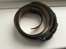 British Military Brown Leather Sam Browne Shoulder strap