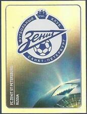 PANINI UEFA CHAMPIONS LEAGUE 2011-12- #447-ZENIT ST PETERSBURG TEAM BADGE-FOIL