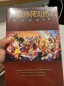 WAR OF THE REALMS Omnibus Hardcover by Jason Aaron Marvel Thor OOP New
