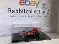 "DIE CAST "" MARCH 711 - 1971 "" FORMULA 1 RBA  SCALA 1/43"
