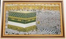 Islamic Muslim frame Al Kaaba / Gift / Tapestry / Home Decorative