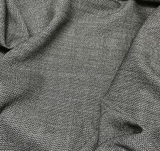 Charcoal Gray - WOOL Suiting Fabric 1/4 yard remnant