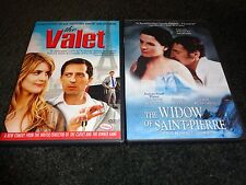THE VALET & THE WIDOW OF SAINT-PIERRE-2 dvds-DANIEL AUTEUIL,KRISTIN SCOTT THOMAS