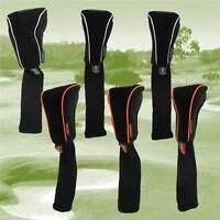 Pro Tekt Neoprene Driver Or Fairway Golf Club Headcovers, Orange or Black