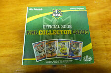 2008 NRL COLLECTOR CARDS