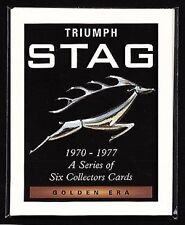 TRIUMPH STAG - Original Collectors Cards - inc. Mk1 Mk2 Federal and Third Phase