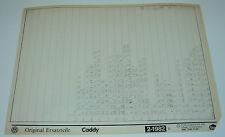 Microfich Ersatzteilkatalog VW Caddy Typ 14D / 14 D Stand Februar 1982!