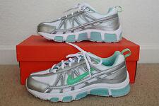NIB Girls NIKE T-RUN II GS/PS Lace-Up Athletic Running Shoes Sz 6Y