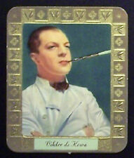 Viktor de Kowa 1934 Garbaty Film Star Series 2 Embossed Cigarette Card #212