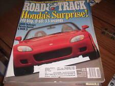 Road & Track Jan 1999 Honda 240 bhp