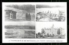 La Trappe Notre-Dame de Mistassini rppc QC Canada 1911