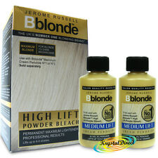 Jerome Russell BBlonde High Lift Powder Bleach + 2x Cream Peroxide 30vol 9%
