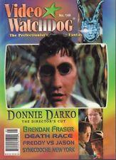Video Watchdog no.149 Donnie Darko Brendan Fraser Freddy Vs Jason 021318Dbe