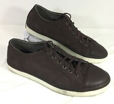 EUC Men's Cole Haan Grand Os Casual Oxford Sneakers Brown Suede leather Sz 9