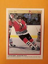 1990-91 O Pee Chee Premier #100 Jeremy Roenick Rookie Card
