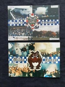 2x Collage/Foto Ultras Darmstadt, Wilde Jungs, SVD, Ultra de Lis, 98, AFD, Usual