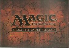 Magic the Gathering - Factory Sealed - From The Vault Realms