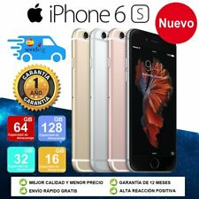 NUEVO Apple iPhone 6S 16GB 32GB 64GB 128GB LTE 4G libre Desbloqueado ES