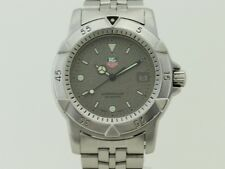 Tag Heuer Professional 1500 Men's Diver Granite Watch Quartz SS  Steel 959.713G