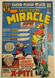 Mister Miracle #2 Jack Kirby 4th World - 1st Granny Goodness - DC Comics 1971