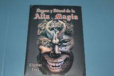 DOGMA Y RITUAL DE LA ALTA MAGIA book libro triangulo de Salomon consagracion