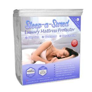 Luxury Waterproof Mattress Encasement From Sleep-A-Sured