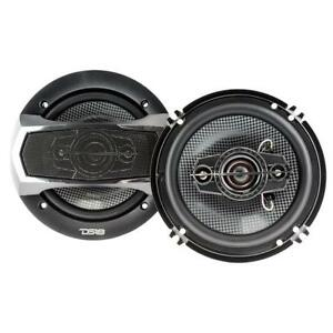 "DS18 SLC-N65X 6.5"" 4 Way Car Stereo Speakers 400W Max 4 ohm Coaxials (Set of 2)"