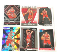 CHANDLER HUTCHISON (6) Rookie Cards Lot - No Dupes - Includes HOLO PRIZM - BULLS
