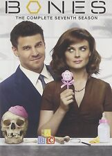Bones - 3/4 Series 7 - Complete (DVD, 2012, 4-Disc Set, Box Set)