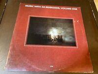 Music w/ 58 Musicians, Vol. One~2LP~Chick Corea, Pat Metheny, Jarrett~Free Jazz