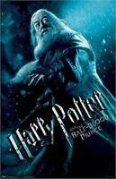 HARRY POTTER POSTER ~ HALF-BLOOD PRINCE DUMBLEDORE 22x34 Movie Michael Gambon