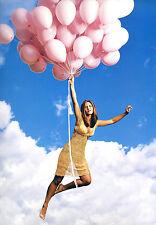 Jennifer Anniston 8X10 sexu cute yellow see through dress and balloons