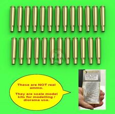 Master 1/16 M2 Browning .50 Cal 12.7mm MG Empty Shells Casings (25 pc) GM-16-001