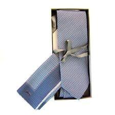 Corbatas, pajaritas y pañuelos de hombre azul Brioni 100% seda