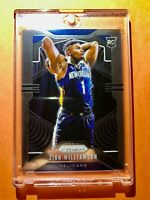Zion Williamson PANINI PRIZM HOT ROOKIE CARD 2019-20 RC #248 WELL CENTERED Mint!