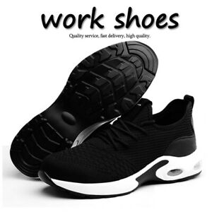 Mens Safety Trainers Steel Toe Cap Lightweight Work Shoes Womens Hiking Boots