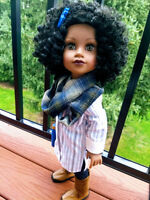 """7 PC """"Horseback & Hayrides"""" Shop the Outfit or Separates for Journey Girl Dolls"""