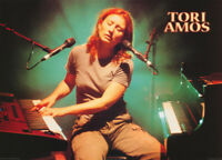POSTER : MUSIC : TORI AMOS - WITH KEYBOARDS - FREE SHIPPING ! #PR3201 RC4 Q