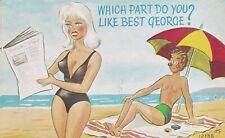 Comic seaside humour postcard Coastal Cards -  PC 23