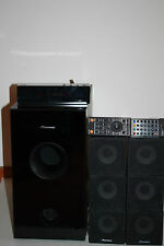 Pioneer SX/SSP/RCS Home Cinema Active Speaker System for DVR-LX60D,